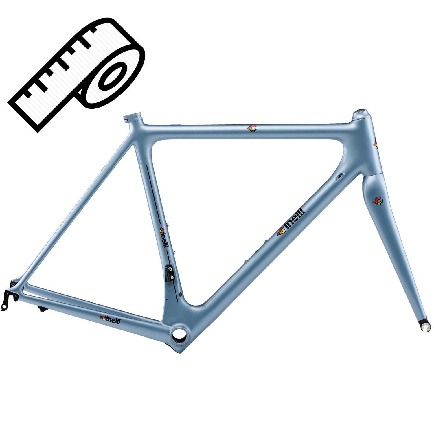 Cinelli Laser Mia Custom Geometry Frameset