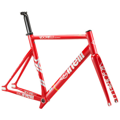 Cinelli Vigorelli Shark Red Frameset