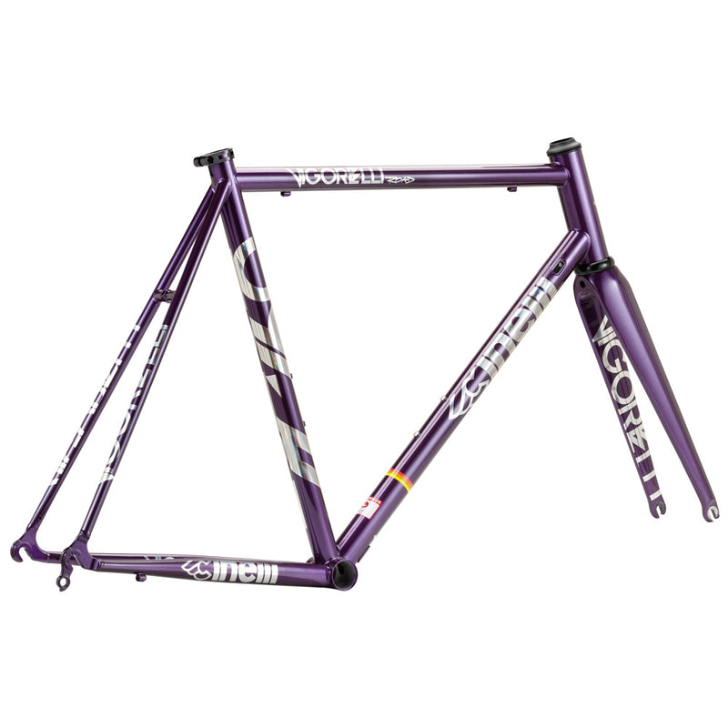 Cinelli Vigorelli Road Steel Purple Frameset