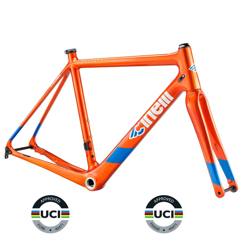 Cinelli Veltrix Disc Orange Frameset