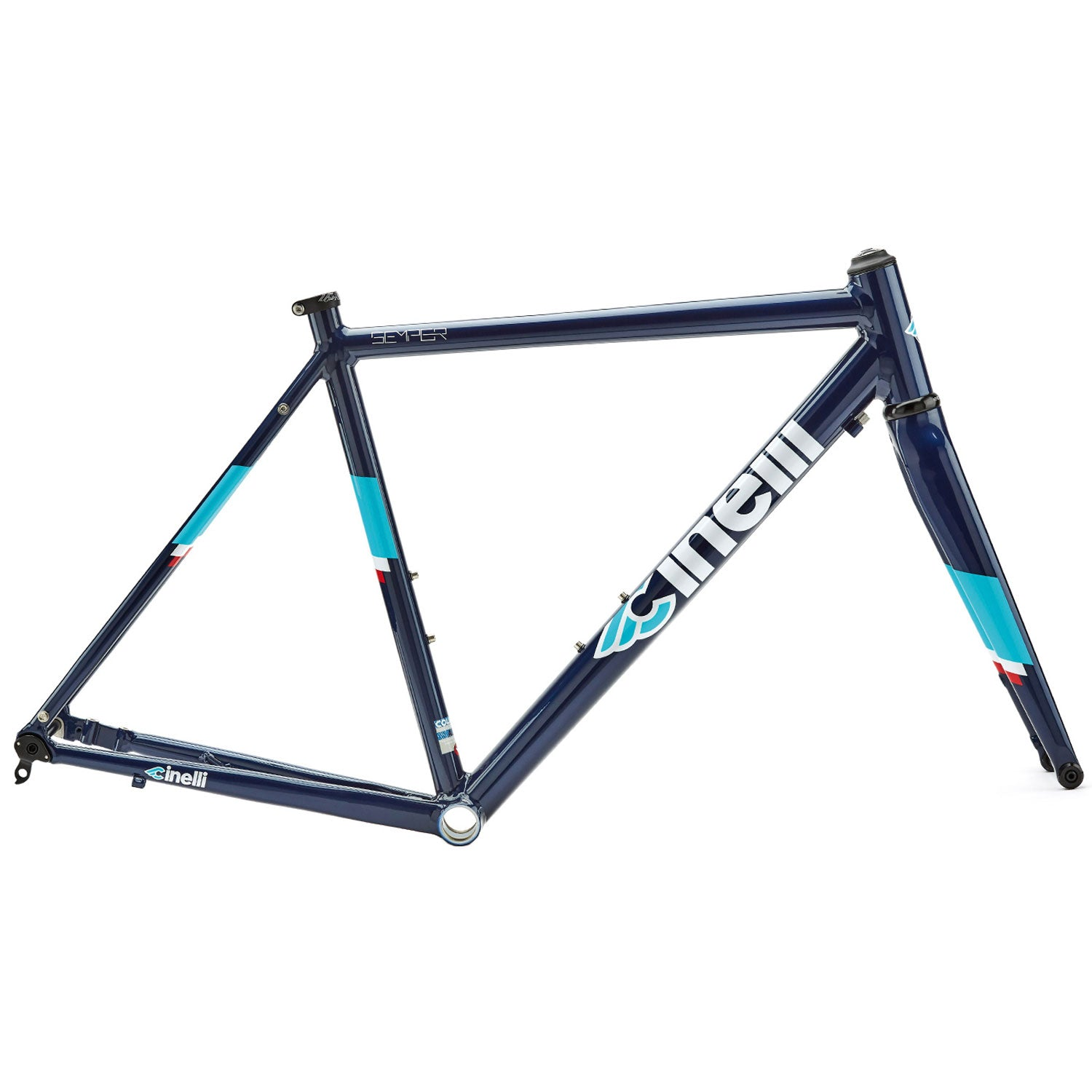 Cinelli Semper Disc Blue Frameset