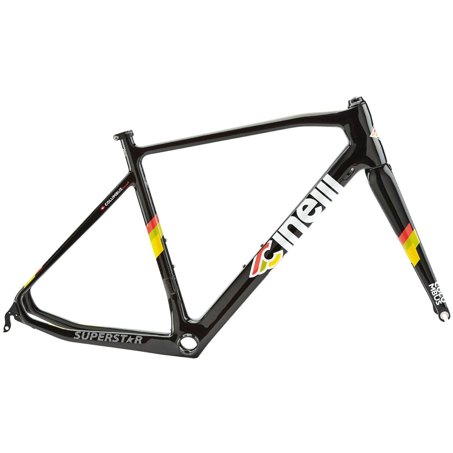 Cinelli Superstar Caliper Black Frameset