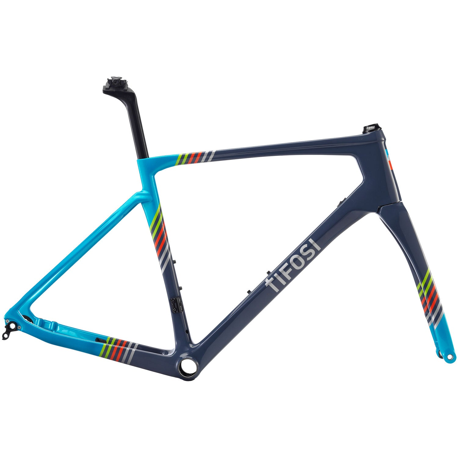 Tifosi SS26 Disc Grey/Blue Frameset