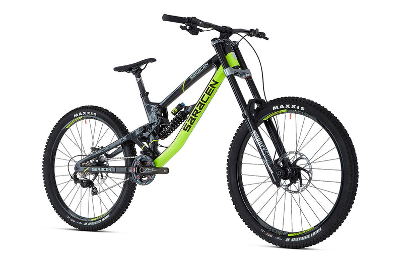 Saracen Myst Pro Factory Bike 2019 - Flag Bikes