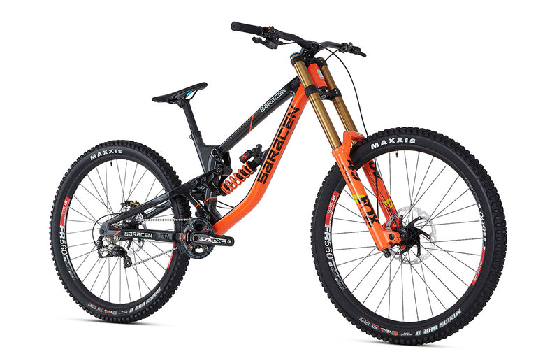 Saracen Team 29 Factory Long Bike 2019 - Flag Bikes