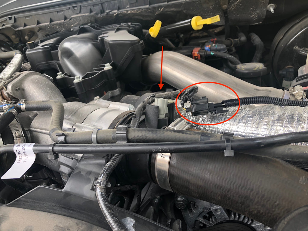 2017-2018 Ford Powerstroke SOTF Switch Install – Injected