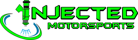 INJECTED MOTORSPORTS DECAL; VINYL DIE-CUT (white or black) * sizes vary