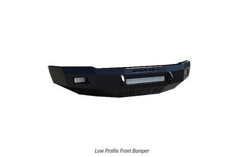 injected motorsports IRON CROSS (40-525-15) LOW PROFILE BUMPER; 15-19 CHEVY SILVERADO 2500/3500