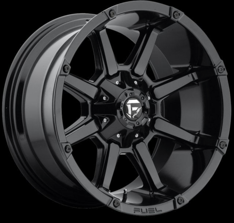 injected motorsports FUEL (d57520008245) Coupler Wheel 20x10 8x6.5 or 8x165.1 Black -24 mm