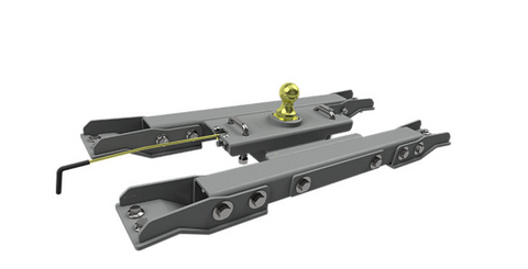 injected motorsports B&W Hitches (GNRK1020) Turnoverball Gooseneck Hitch; 2020 GM 2500/3500HD