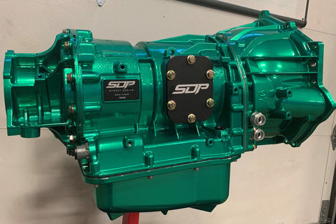 injected motorsports SDP Built Allison 1000 Transmission w/ Billet Torque Converter; 01-16 GM Duramax