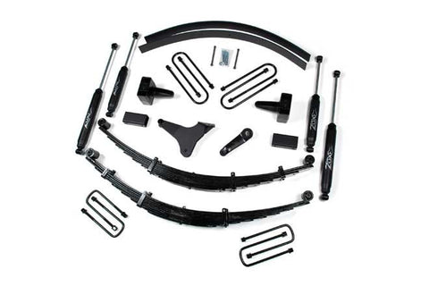 2003 2007 6 0l tagged lift kit injected motorsports F250 Leveling Kit zone f42 f44 99 04 ford f250 f350 4wd 6