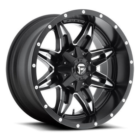 Fuel (D56720208247) Lethal Wheel 20x12 8x6.5; 8x165.1 Black Milled -44mm