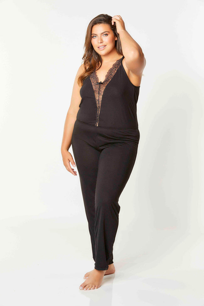 Madalene Jumpsuit Plus (With Bottoms)
