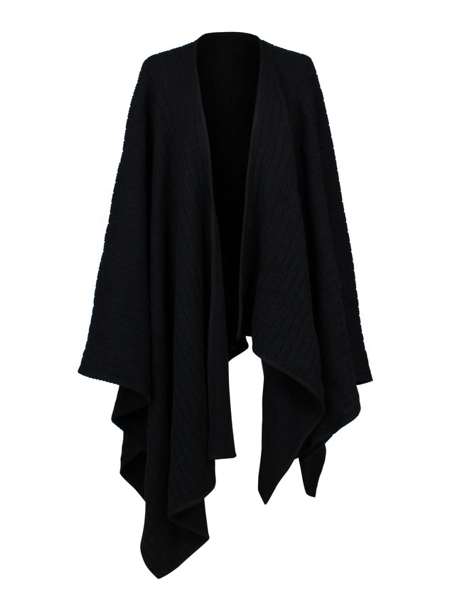 COAT - TYPE PONCHO