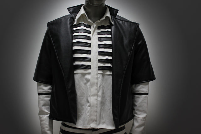 JACKET - BLACK LEATHER