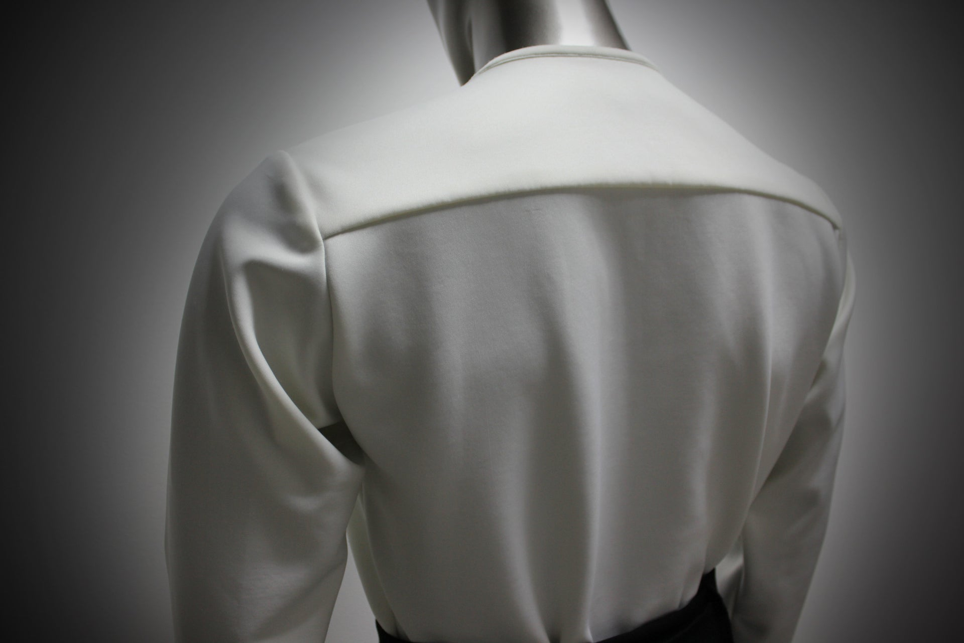 SHIRT - WHITE SILK