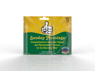 A Free Sample of the Sunday Mornings Hero Kit - Sunday Mornings Hangover Helper