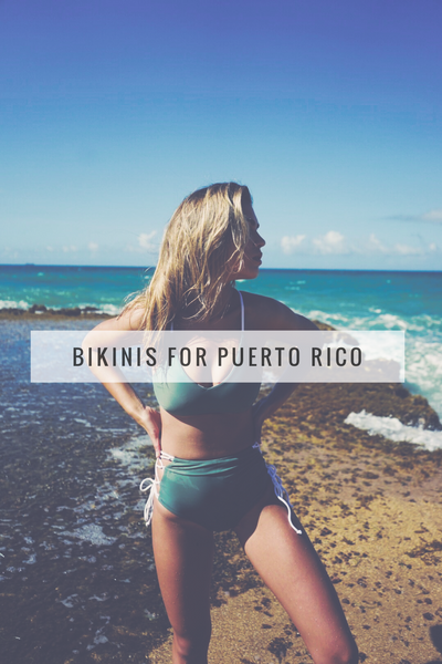 BIKINIS FOR PUERTO RICO - Let's help!