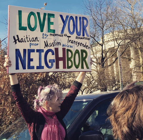 womens march women rights magdakinedesigns magdakinedesigns best signs love your neighbor