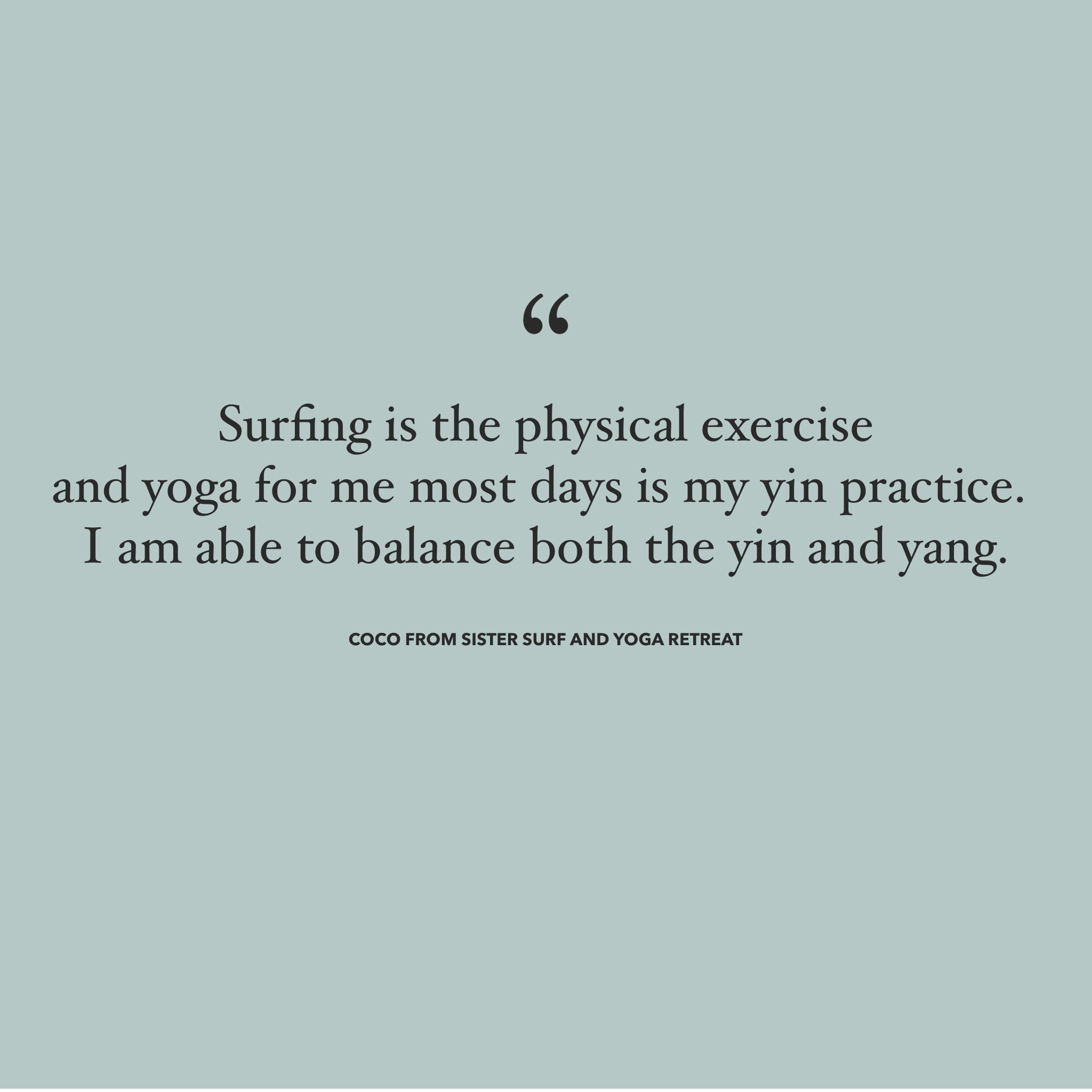 Yoga and Surfing - MAGDAKINEDESIGNS Swimwear Image