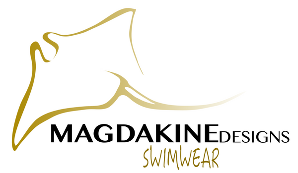 MagdakineDesigns swimwear manta ray