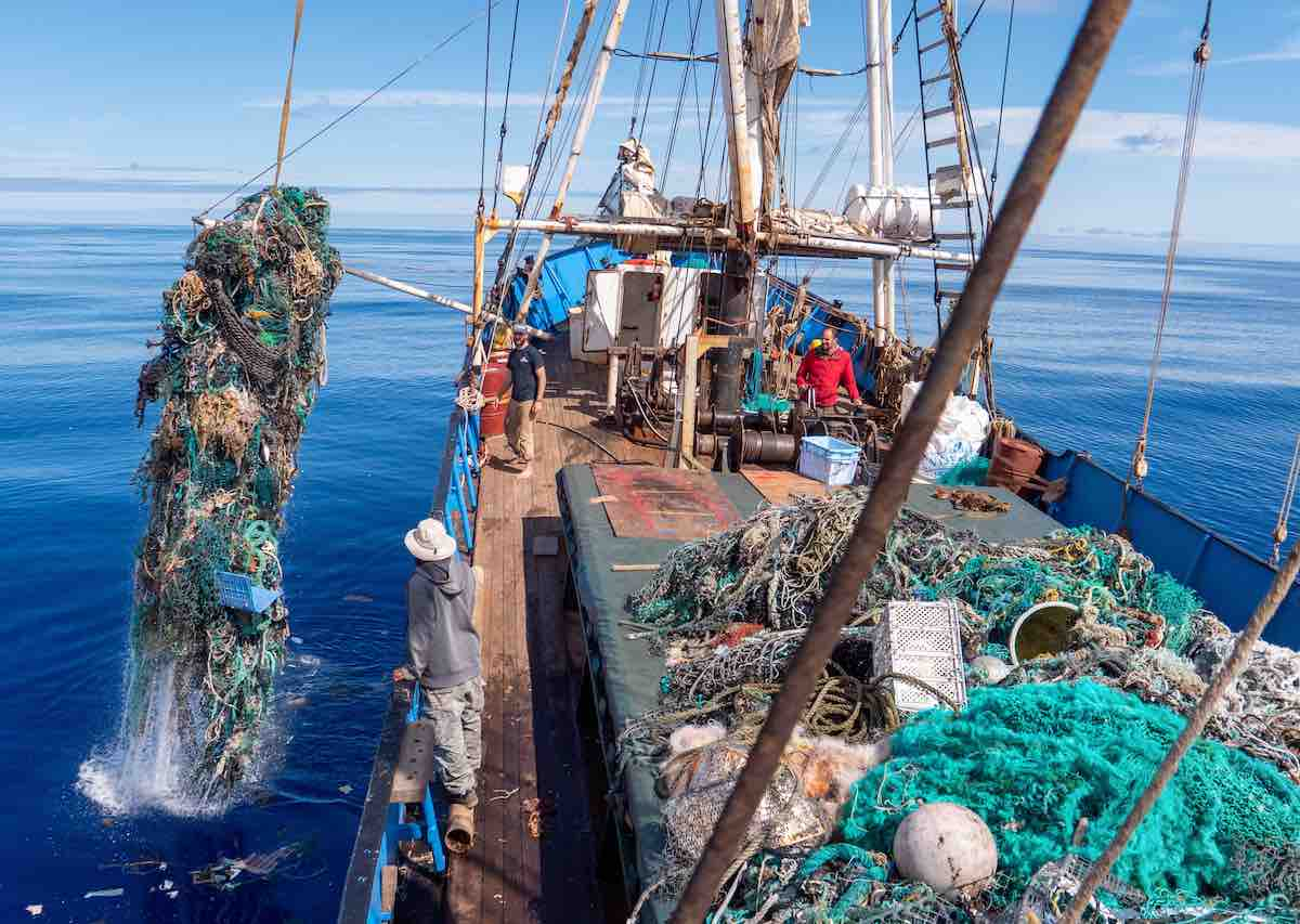 Positive Environmental News - Largest trash haul from Ocean Voyages Institute
