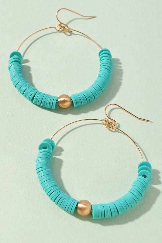 Jillian Earrings-Mint