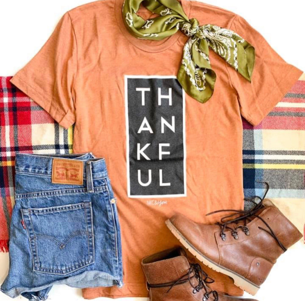 Thankful Tee-Rust