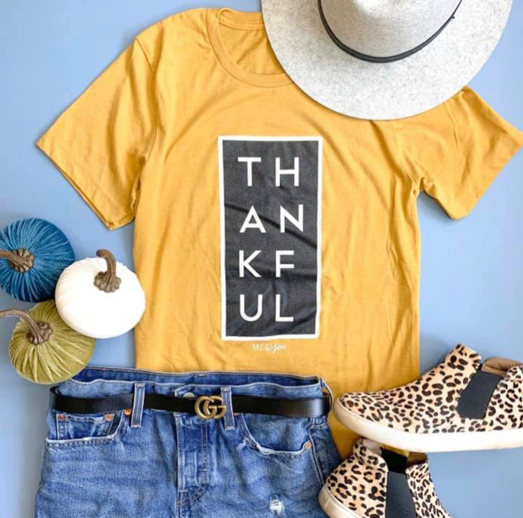 Thankful Tee-Gold