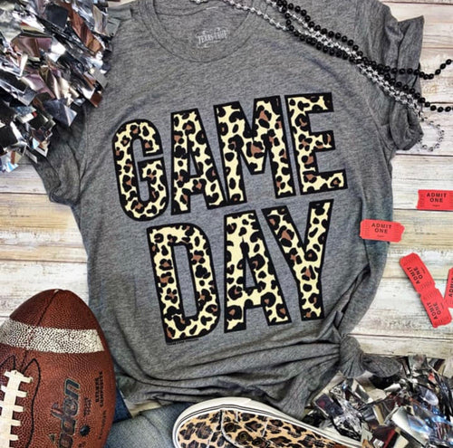 Leopard Game Day Tee