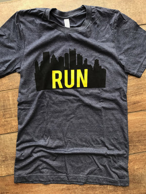 Run Pittsburgh - Unisex T-shirt