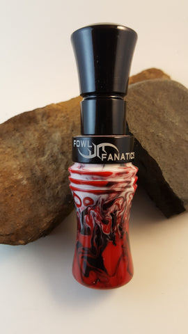 Red, White & Black Goose Call
