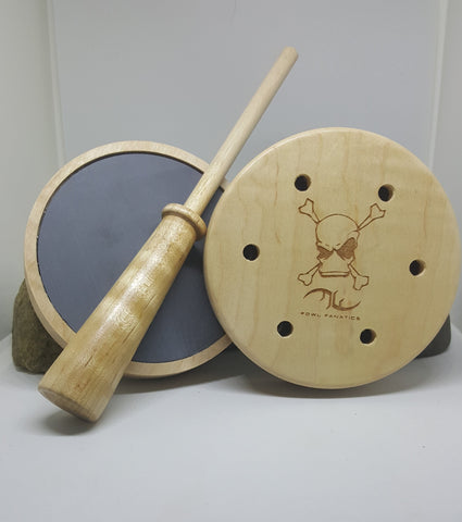 Curly Maple Turkey Pot with Maple/Hickory Striker