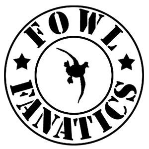 Fowl Fanatics Round Decal