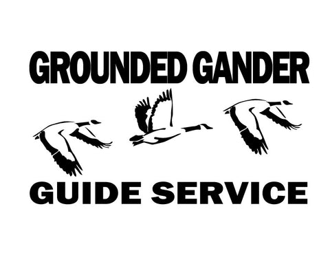 Grounded Gander Decal