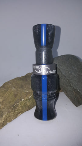 Thin Blue Line Goose Call with Matching Insert