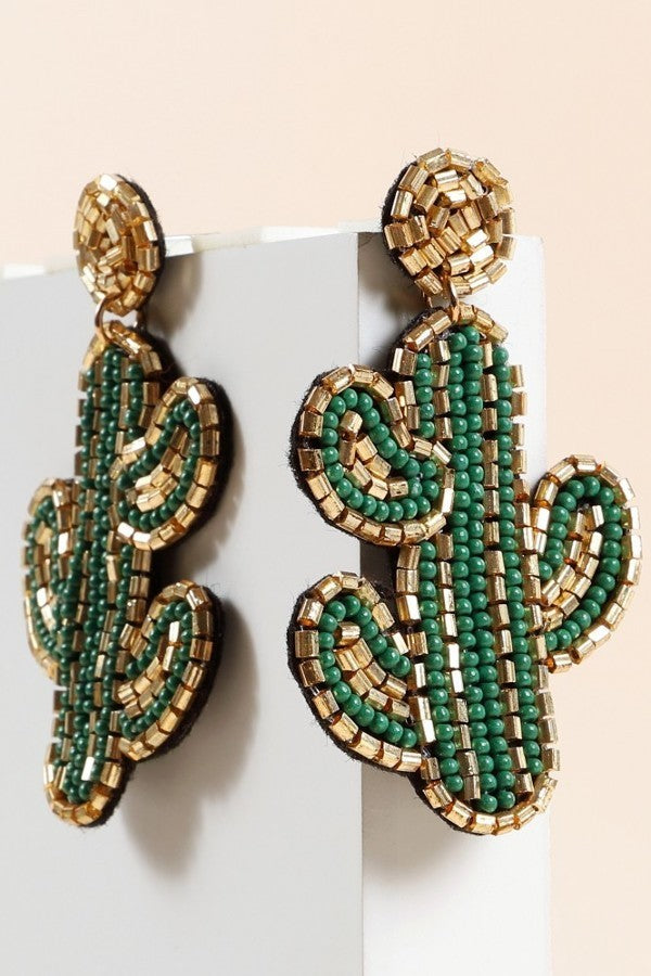CJ's Cactus Earrings