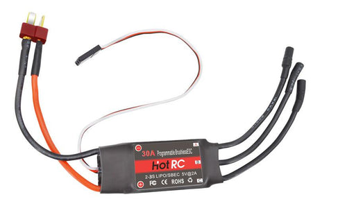RC BEC 30A ESC Brushless Motor Speed Controller