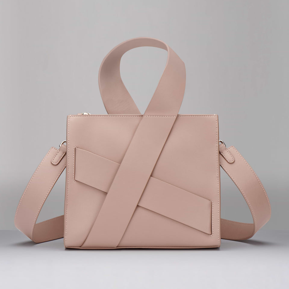 PINK DIAGONAL ZITA BAG