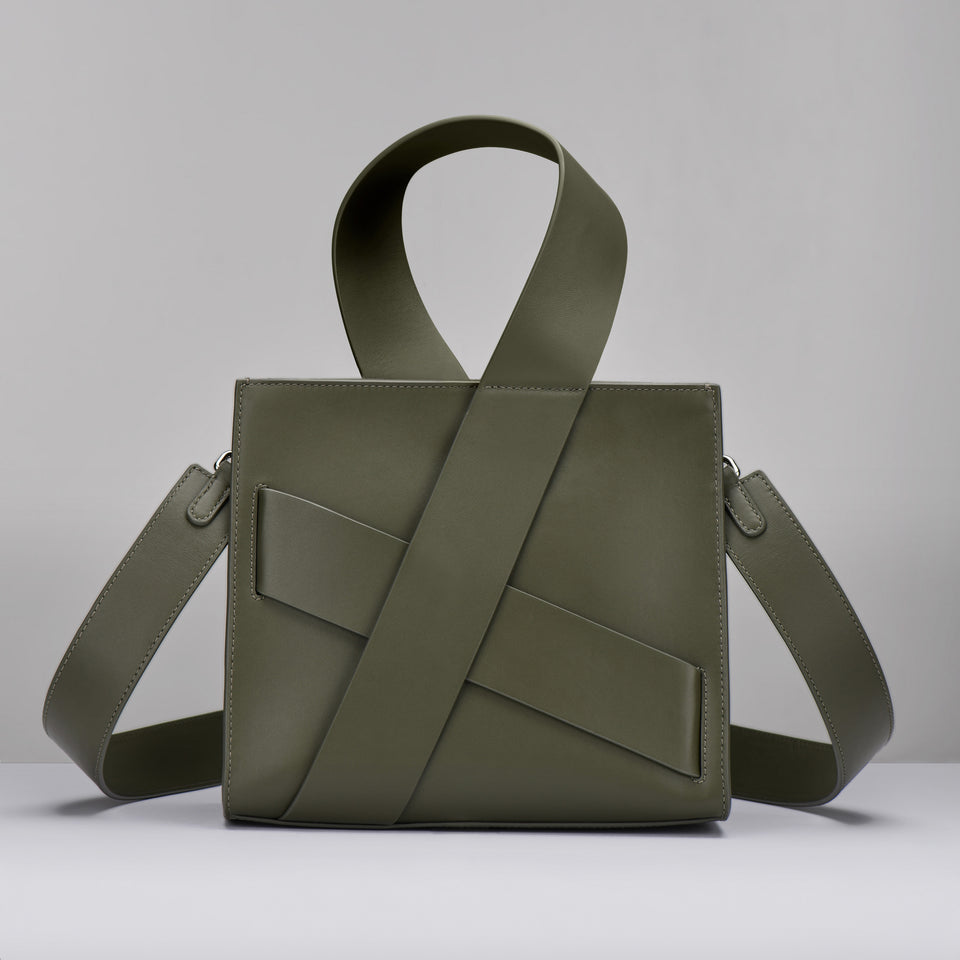 OLIVE DIAGONAL ZITA BAG