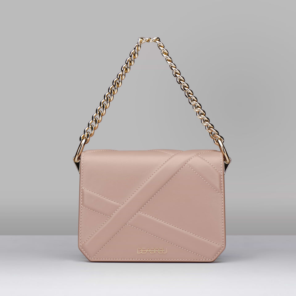 PINK CROSS BODY BAG X LINE