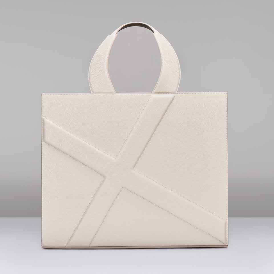 WHITE X LINE Mi SHOPPING BAG
