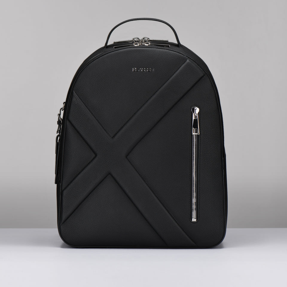 BLACK GAIN LEATHER X LINE  BACK PACK