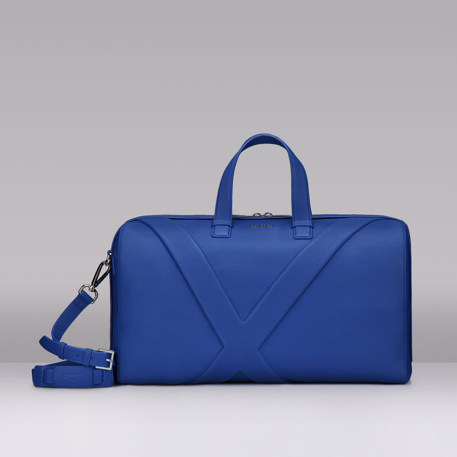 BLUE GRAIN LEATHER X LINE TRAVEL