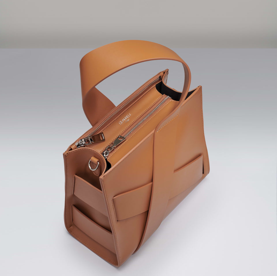 CAMEL DIAGONAL ZITA BAG