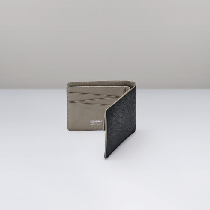 GRAY DIAGONAL WALLET