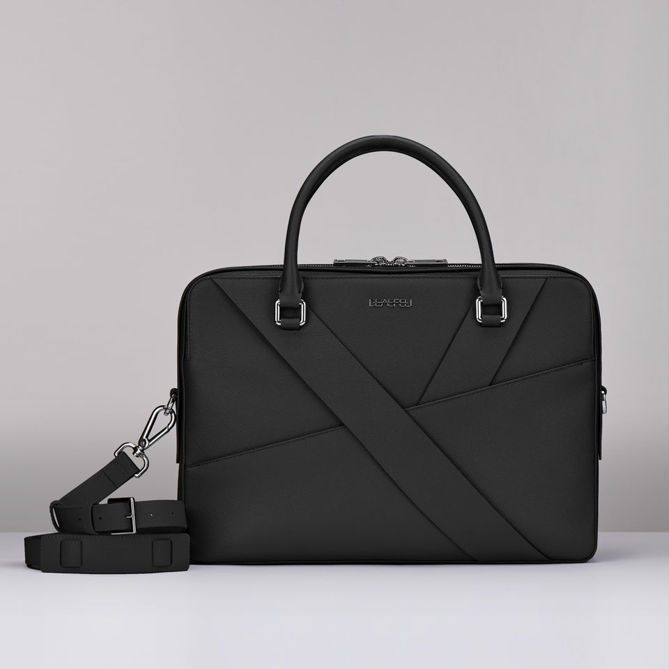 BLACK SAFFIANO LEATHER  BUSINESS