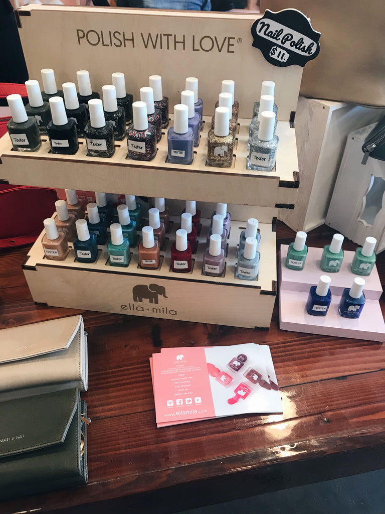 Vegan nail polish at Herbivore Clothing in Portland