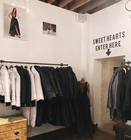 Vaute Couture vegan clothing shop in New York City